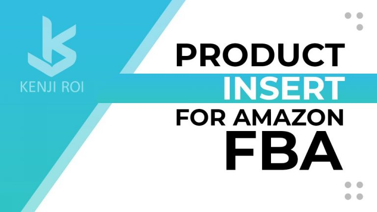 Product Inserts for Amazon FBA