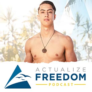 Actualize Freedom Podcast Cover Amazon FBA