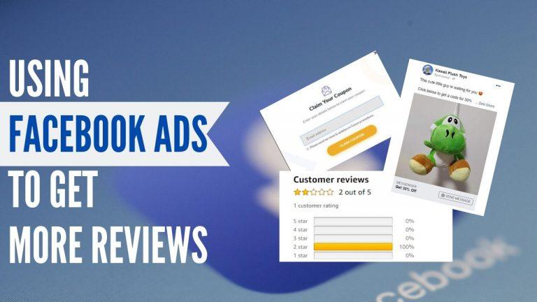 using fb ads to get more reviews