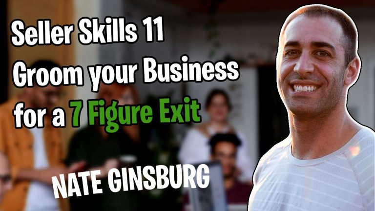 How to Prep for a 7-Figure Exit on Amazon from a Seller who's Done it with Nate Ginsberg