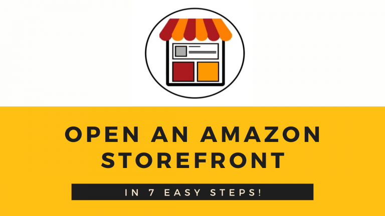 Open an Amazon Storefront