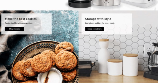 Storefront images example cookies containers