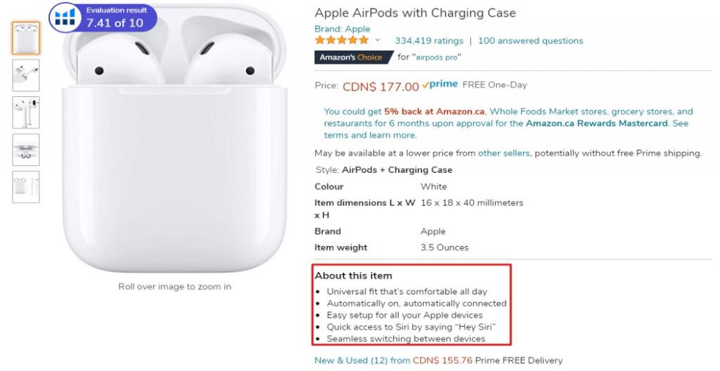 apple earpods amazon key product features